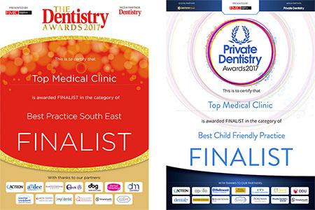 Top Medical Clinic finalistą w Dentistry Awards i Private Dentistry Awards