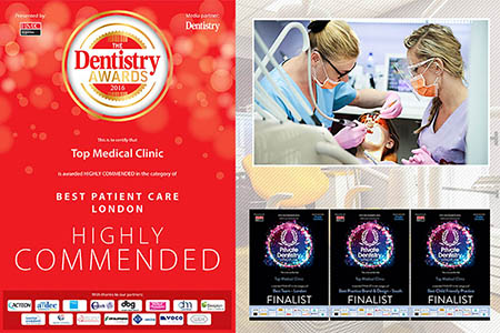 Top Medical Clinic – jedyna polska klinika wyróżniona w The Dentistry Awards 2016
